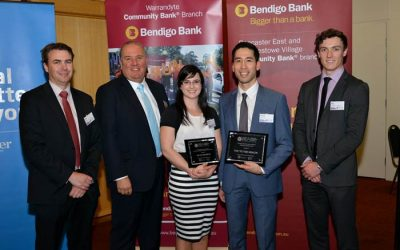 2015 Manningham Business Excellence Awards Winners