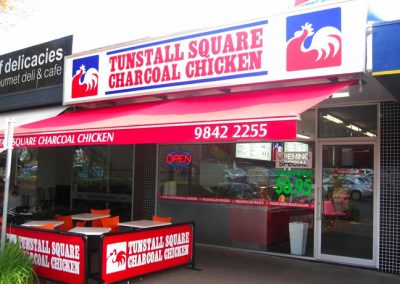 Tunstall Square Charcoal Chicken